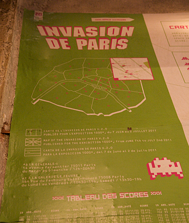 Invader-invasionparistable